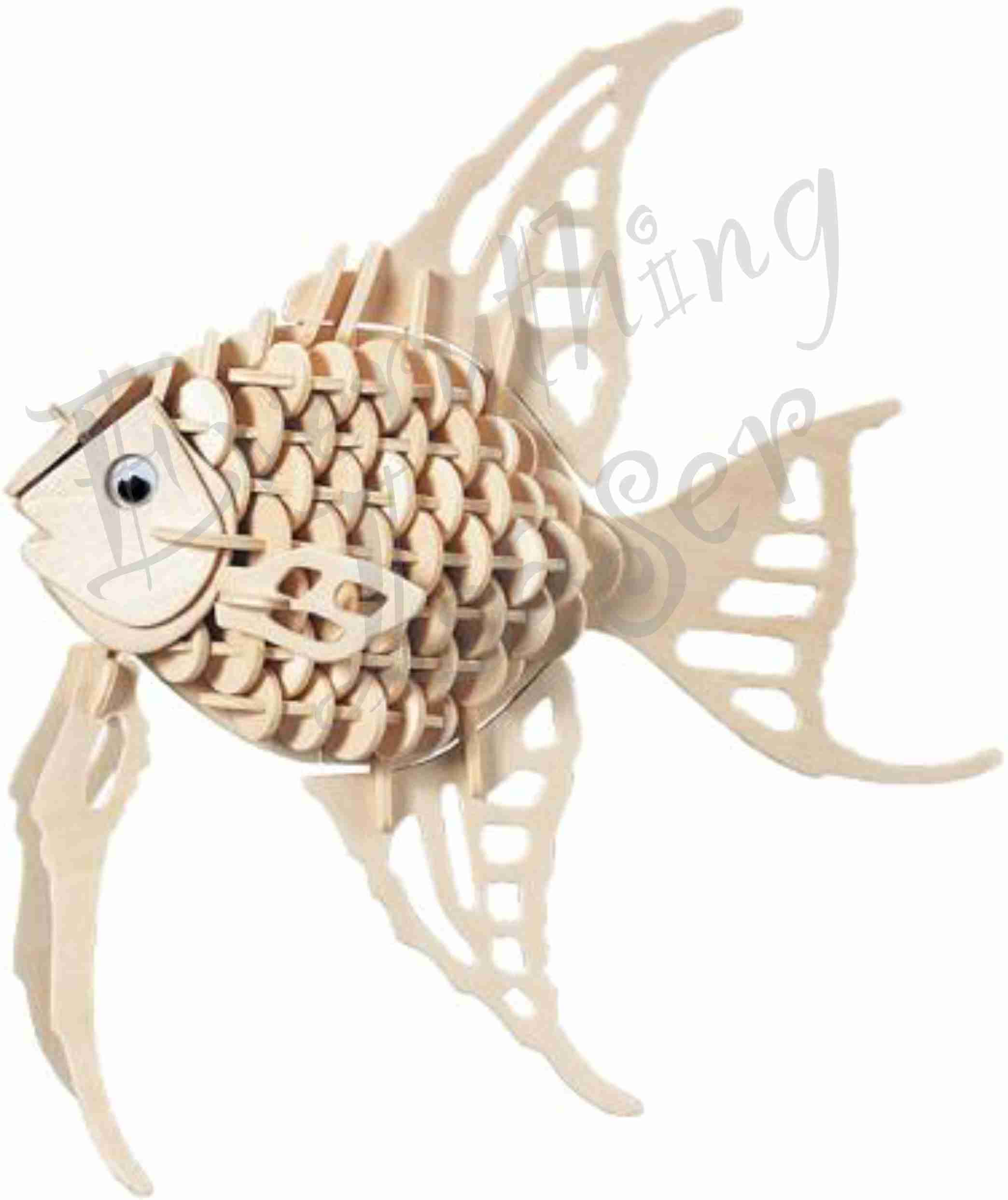 3D Puzzle- Angelfish