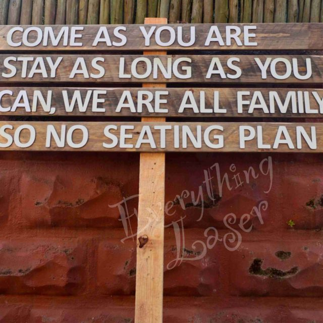 For Weddings – Signposts