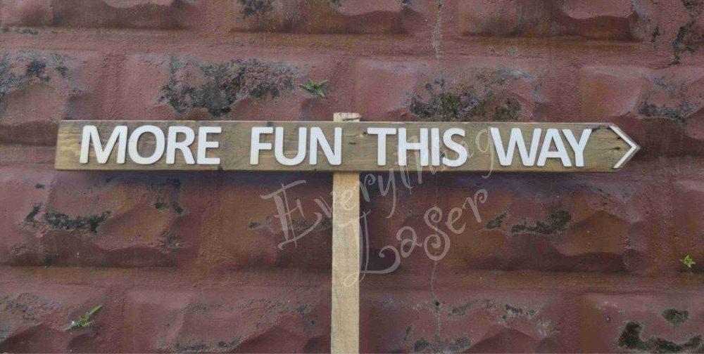 Picket sign Fun