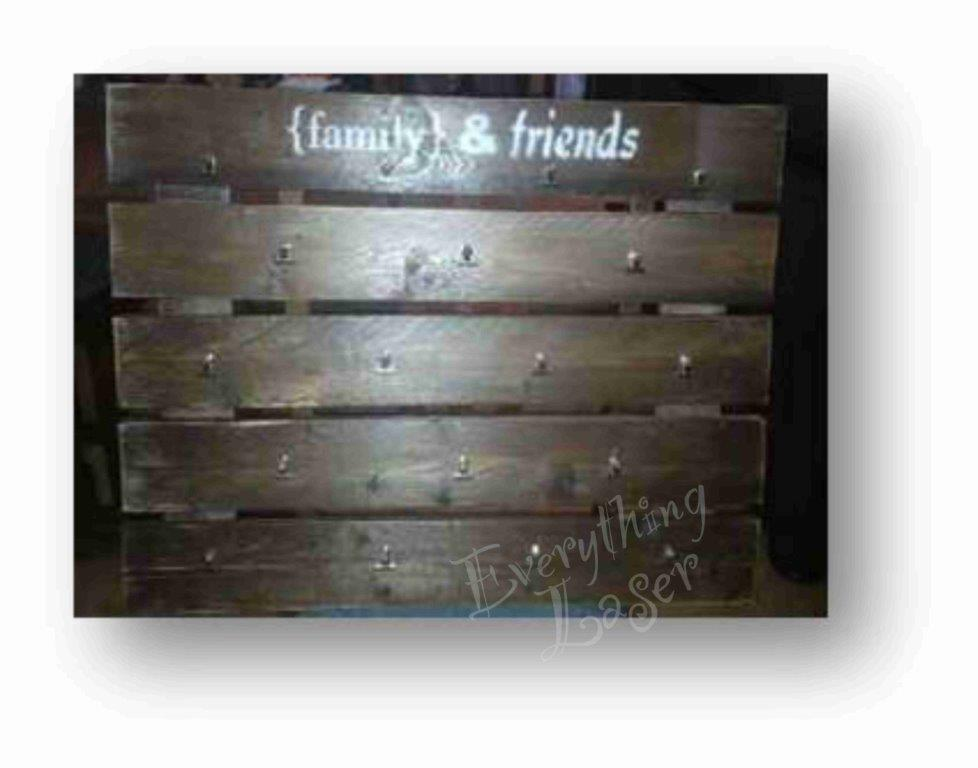 Family & Friends plaque