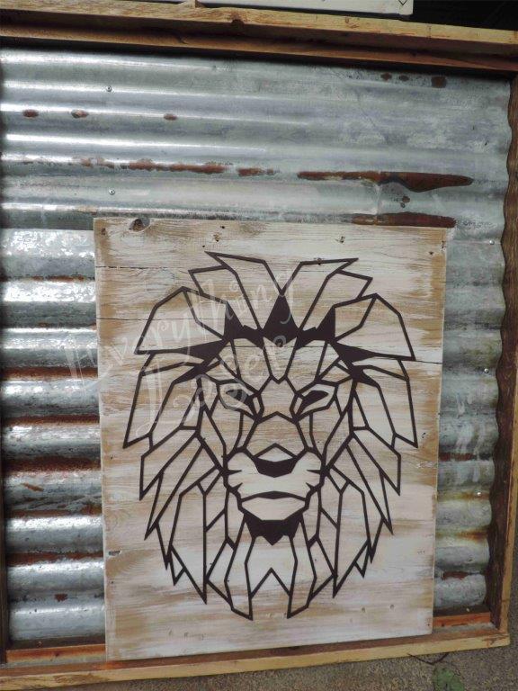 Lion wire frame
